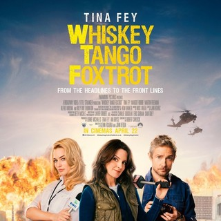 Poster of Paramount Pictures' Whiskey Tango Foxtrot (2016) - whiskey-tango-foxtrot-pstr02