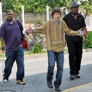 Tracy Morgan, Jesse Eisenberg and Isiah Whitlock Jr. in IFC Films' Why Stop Now (2012)