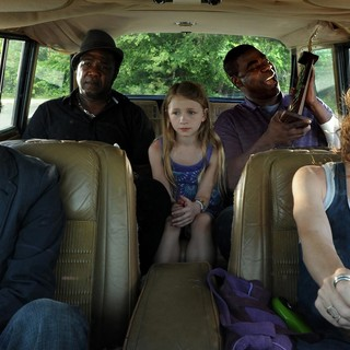 Jesse Eisenberg, Isiah Whitlock Jr., Emma Rayne Lyle, Tracy Morgan and Melissa Leo in IFC Films' Why Stop Now (2012)