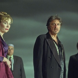 Wilde Salome - Roxanne Hart stars as Herodias and Al Pacino stars as Himself/King Herod in Arclight Films' Wilde Salome (2011)