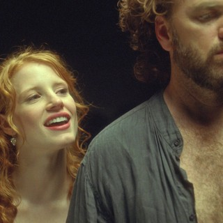 Wilde Salome - Jessica Chastain stars as Salome and Kevin Anderson stars as Himself/John the Baptist in Arclight Films' Wilde Salome (2011)