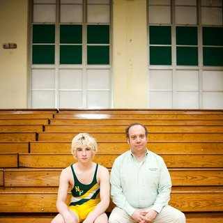 Paul Giamatti stars as Mike Flaherty and Alex Shaffer stars as Kyle Timmons in Fox Searchlight Pictures' Win Win (2011)