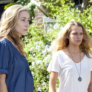 Felicity Price stars as Alice Flannery and Teresa Palmer stars as Steph McKinney in Entertainment One's Wish You Were Here (2013)