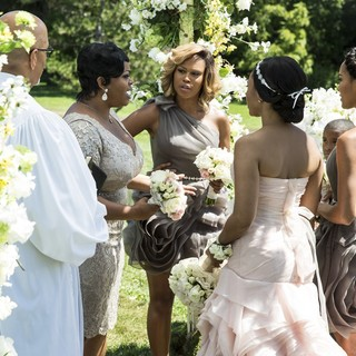 Jill Scott, Eve Jeffers Cooper, Brooklyn Sudano and Regina Hall in Lifetime's With This Ring (2015). Photo credit by Bob Mahoney. - with-this-ring05
