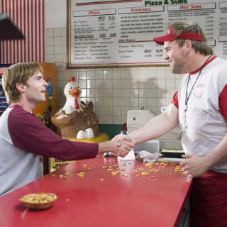 "Seann William Scott (left) stars as ""John Farley"" and Ethan Suplee (right) stars as ""Nedderman"" in MR. WOODCOCK. Photo Credit: Tracy Bennett."
