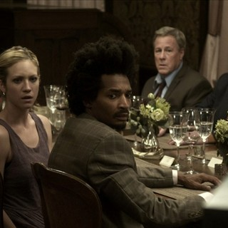 Enver Gjokaj, Brittany Snow, Eddie Steeples, John Heard and Robb Wells in IFC Midnight's Would You Rather (2013) - would-you-rather-2013-03