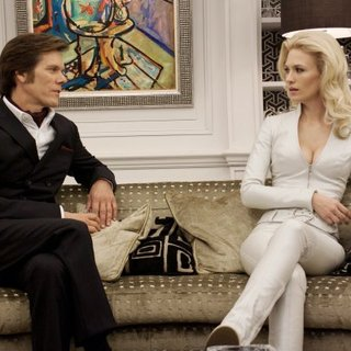 Kevin Bacon stars as Sebastian Shaw and January Jones stars as Emma Frost in 20th Century Fox's X-Men: First Class (2011)