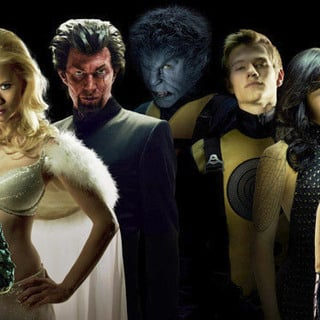 Michael Fassbender, Rose Byrne, January Jones, Jason Flemyng in 20th Century Fox's X-Men: First Class (2011)