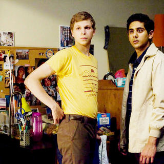 Youth in Revolt - Michael Cera stars as Nick Twisp and Adhir Kalyan stars as Vijay Joshi in Dimension Films' Youth in Revolt (2010). Photo credit by Bruce Birmelin.