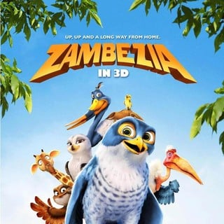 Poster of Triggerfish Animation's Zambezia (2014)