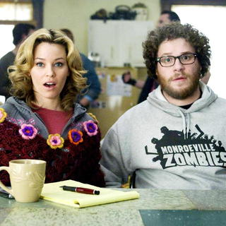 Elizabeth Banks stars as Miri and Seth Rogen stars as Zack in The Weinstein Company's Zack and Miri Make a Porno (2008)