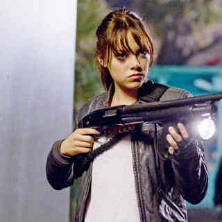 Emma Stone stars as Wichita in Columbia Pictures' Zombieland (2009)