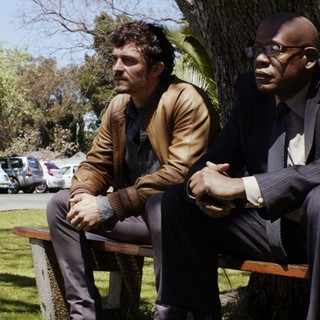 Orlando Bloom stars as Brian Epkeen and Forest Whitaker stars as Ali Sokhela in Pathe's Zulu (2013)