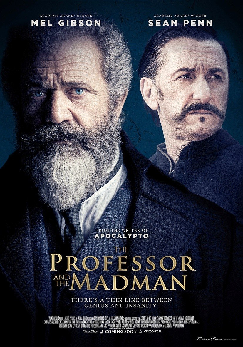 Poster of Vertical Entertainment's The Professor and the Madman (2019)