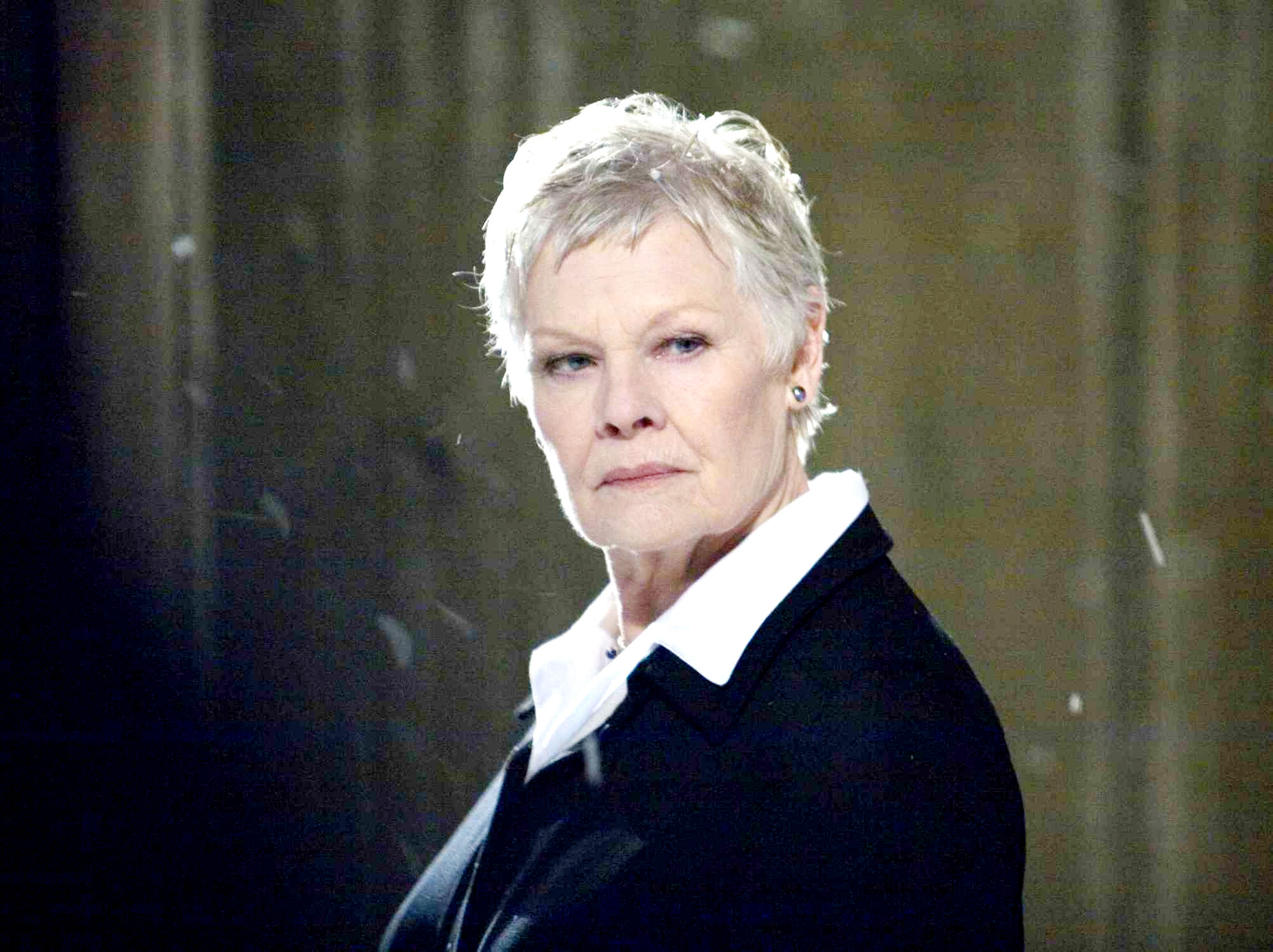 Judi Dench stars as M in Columbia Pictures' Quantum of Solace (2008)