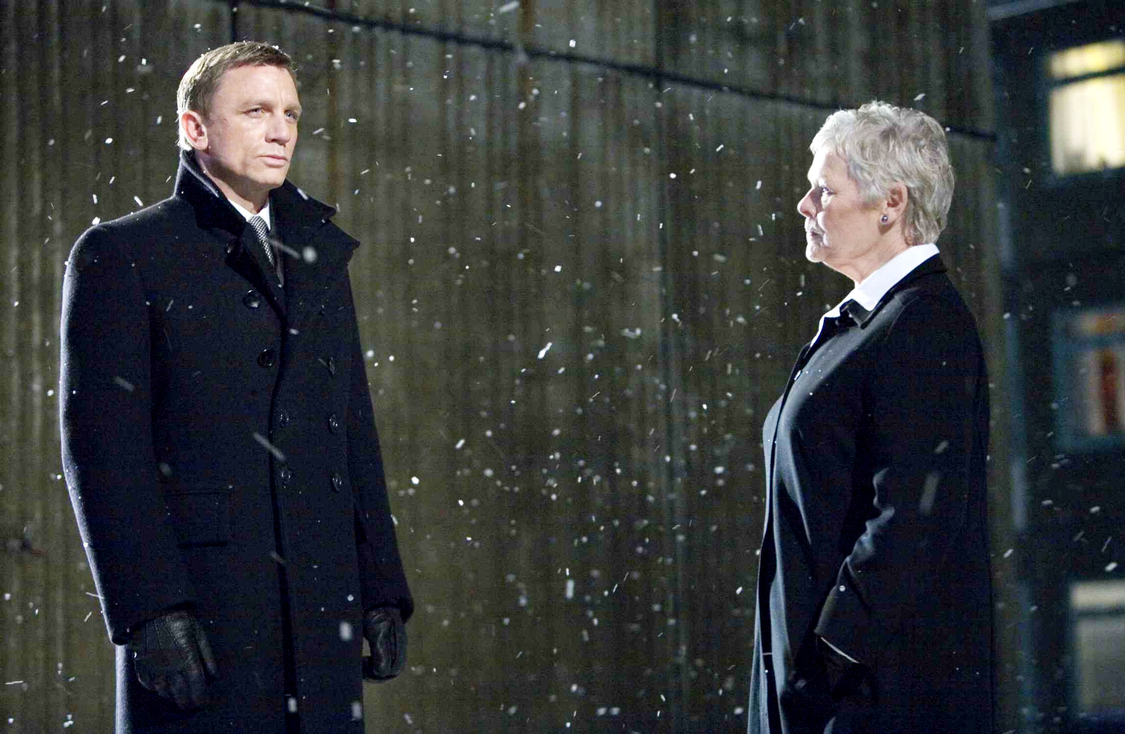 Daniel Craig stars as James Bond and Judi Dench stars as M in Columbia Pictures' Quantum of Solace (2008)