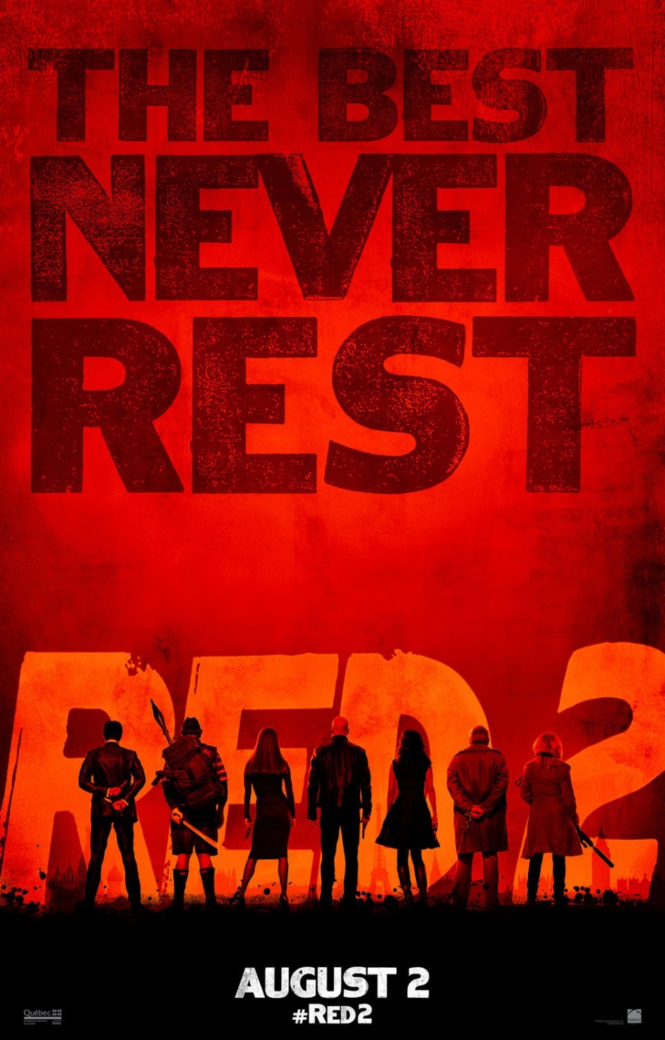 Poster of Summit Entertainment's Red 2 (2013)