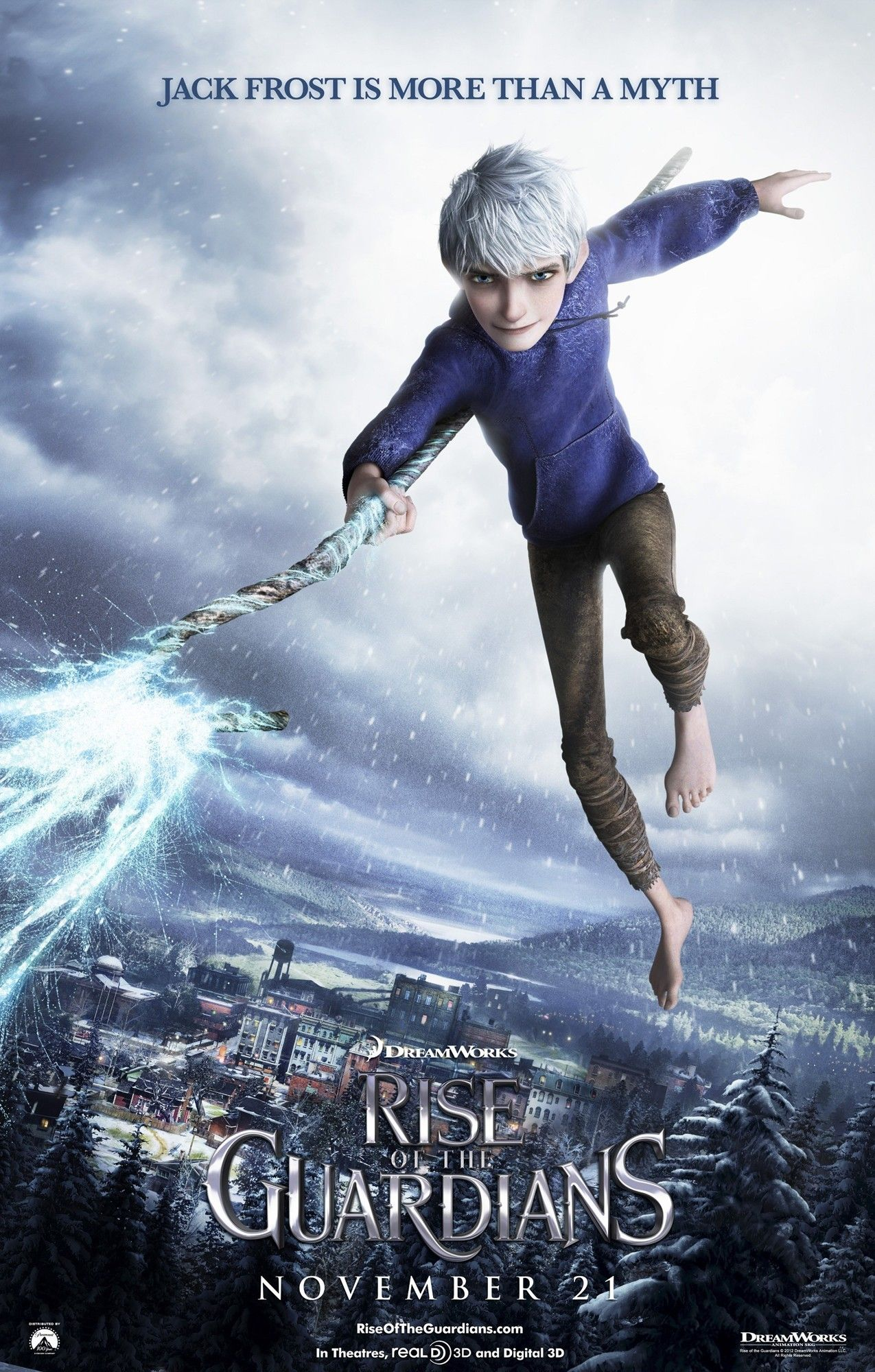 Poster of DreamWorks Animation' Rise of the Guardians (2012)