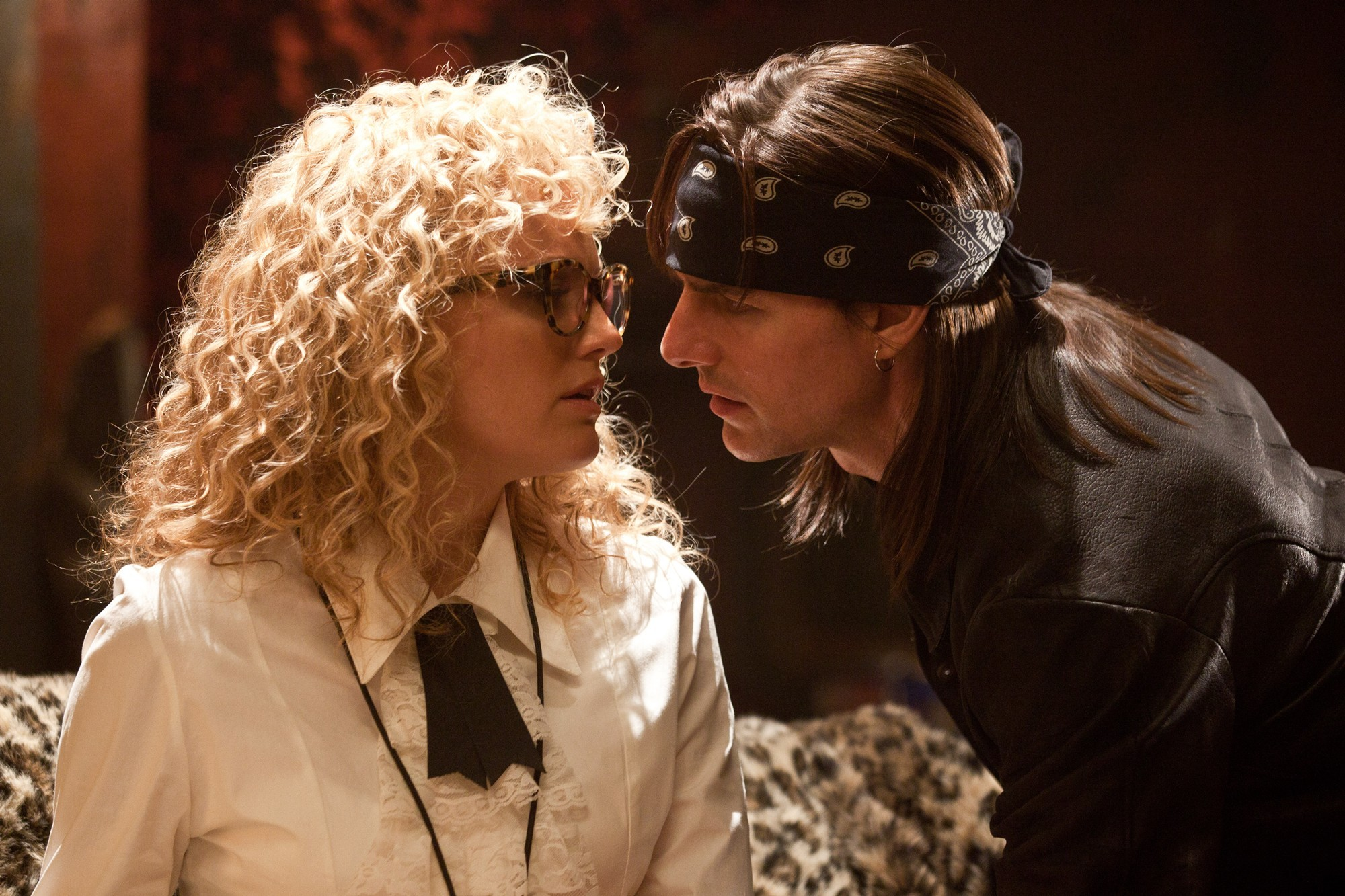 Malin Akerman stars as Constance Sack and Tom Cruise stars as Stacee Jaxx in Warner Bros. Pictures' Rock of Ages (2012)