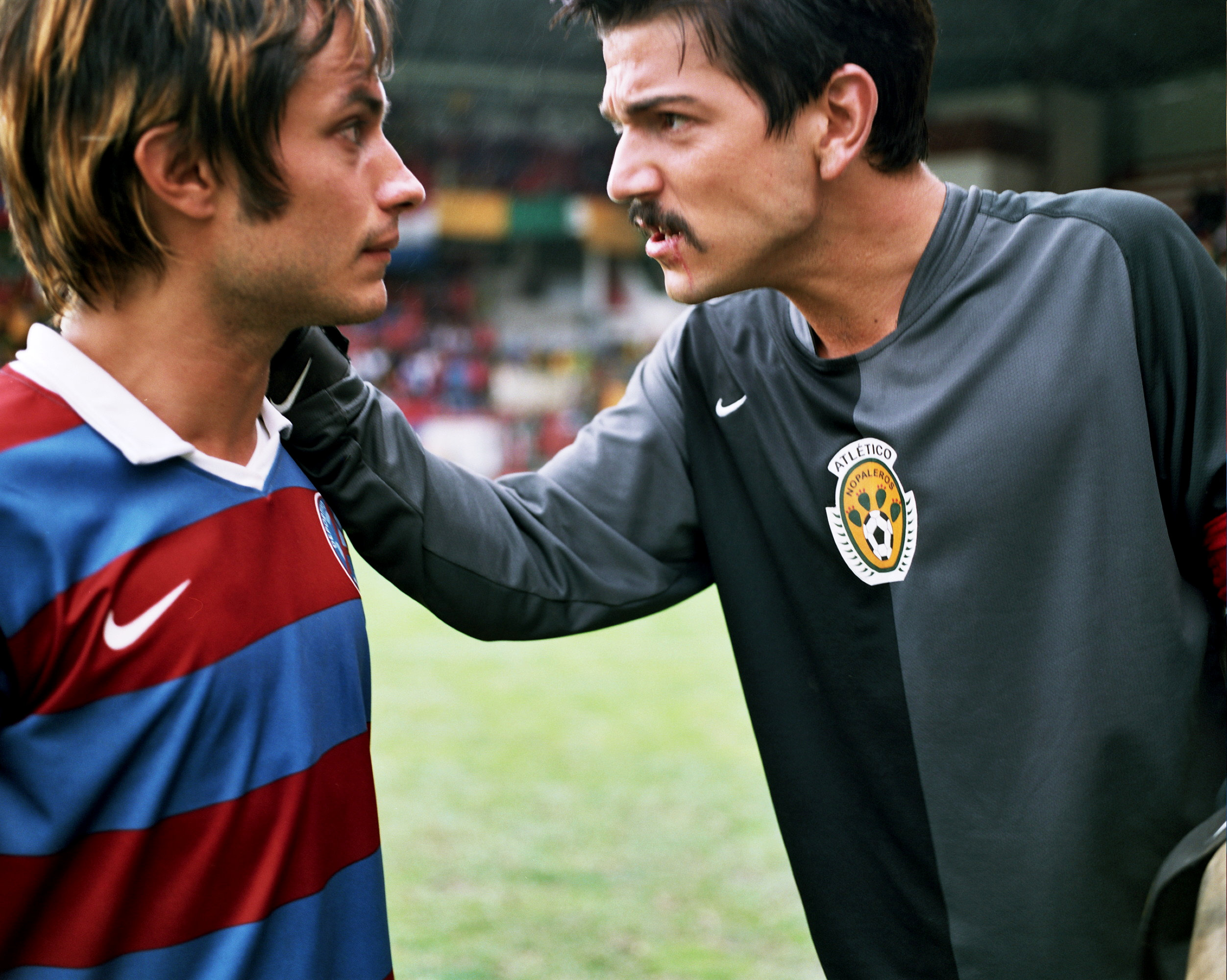 Gael Garcia Bernal stars as Tato and Diego Luna stars as Beto in Sony Pictures Classics' Rudo y Cursi (2009)