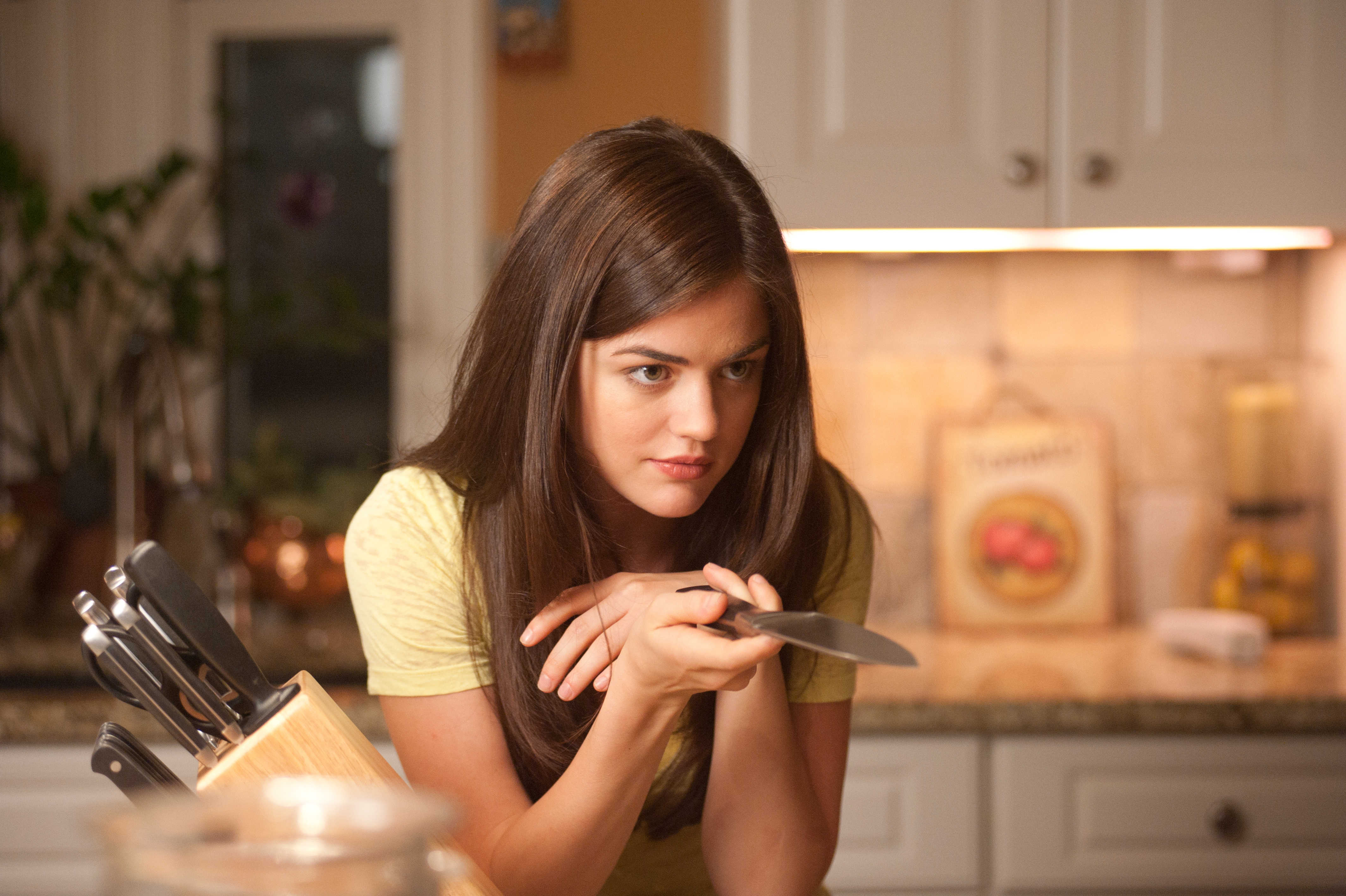 Lucy Hale stars as Patty in Dimension Films' Scream 4 (2011)