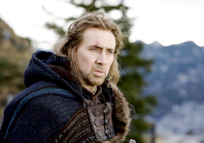 Nicolas Cage stars as Behman in Lionsgate Films' Season of the Witch (2010)