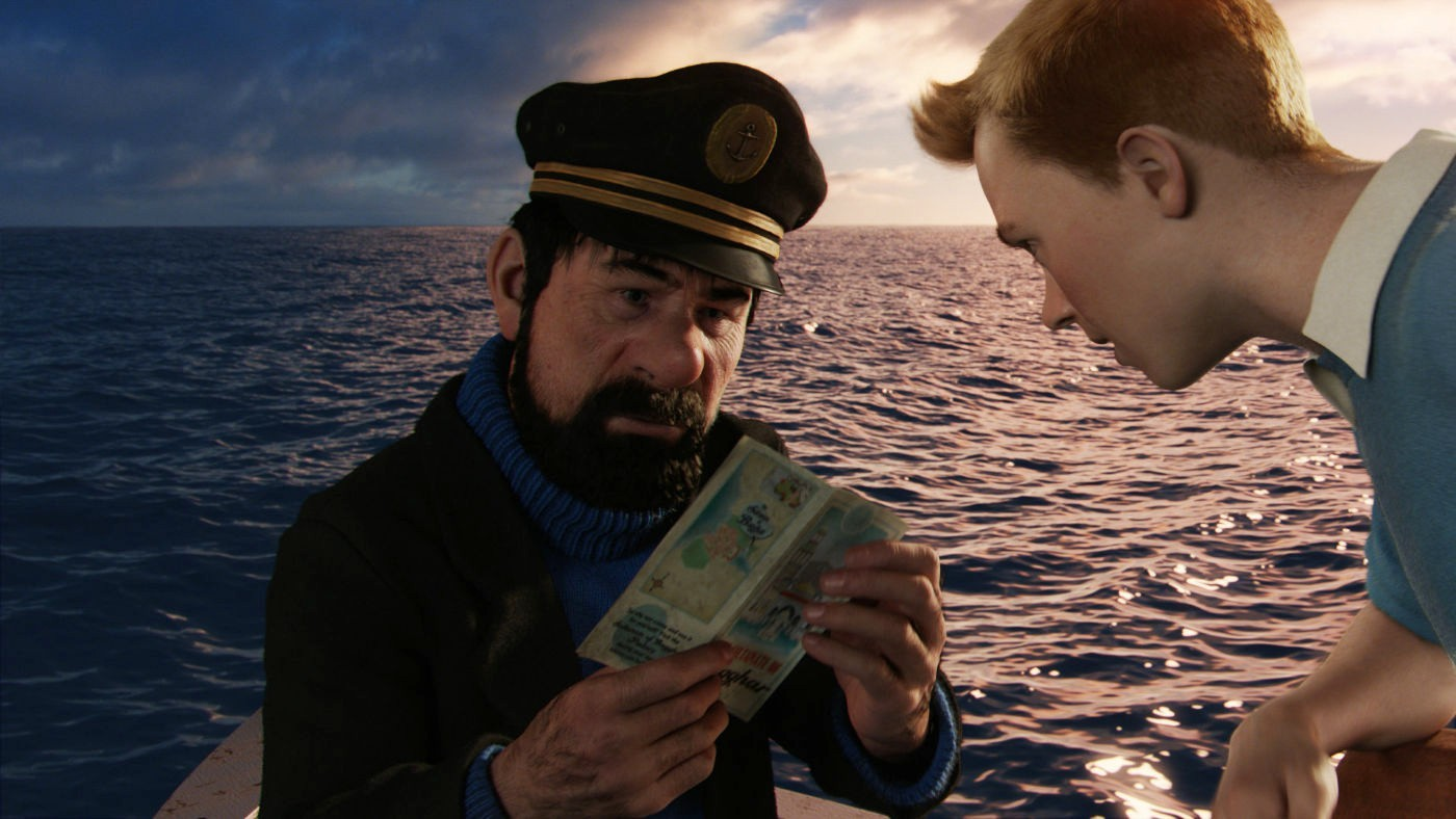 A scene from Paramount Pictures' The Adventures of Tintin: The Secret of the Unicorn (2011)
