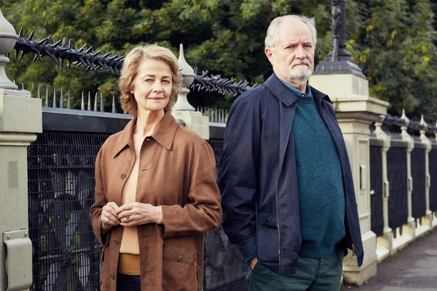 Charlotte Rampling stars as Veronica Ford and Jim Broadbent stars as Tony Webster in CBS Films' The Sense of an Ending (2017)