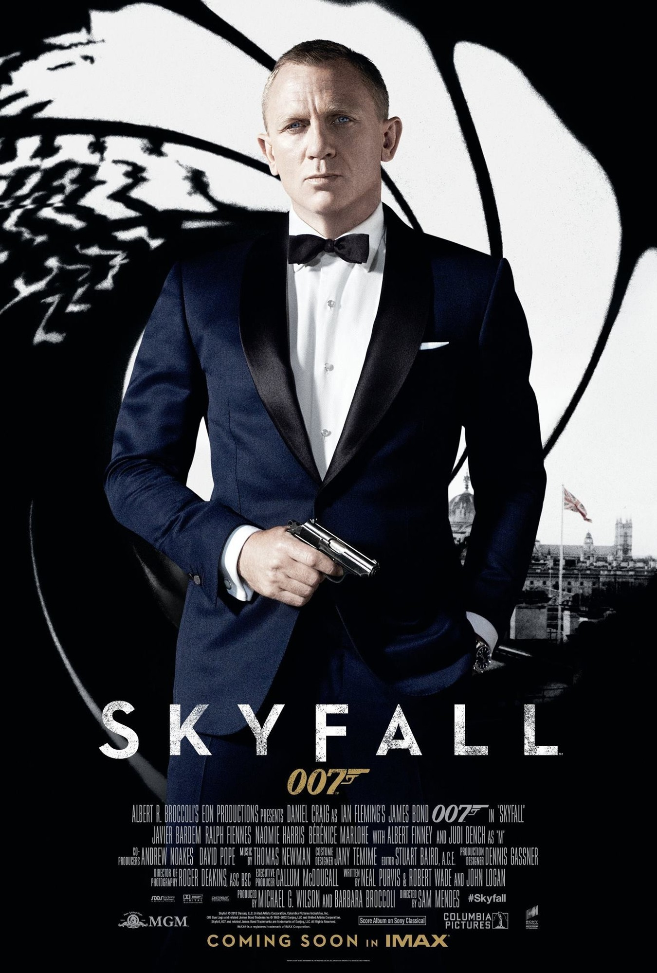 Poster of Columbia Pictures' Skyfall (2012)