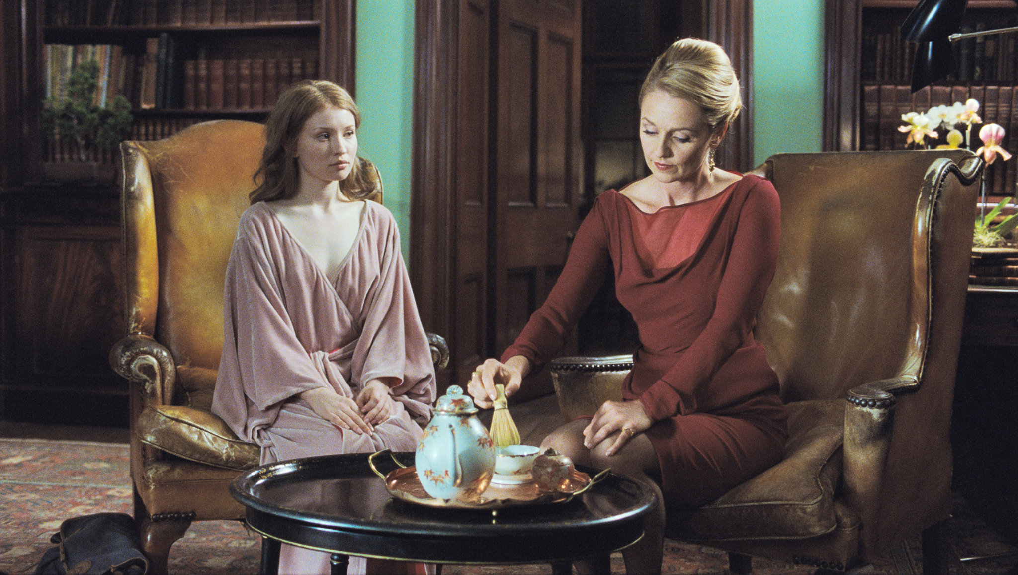 Emily Browning star as Lucy and Rachael Blake star as Clara in IFC Films' Sleeping Beauty (2011)