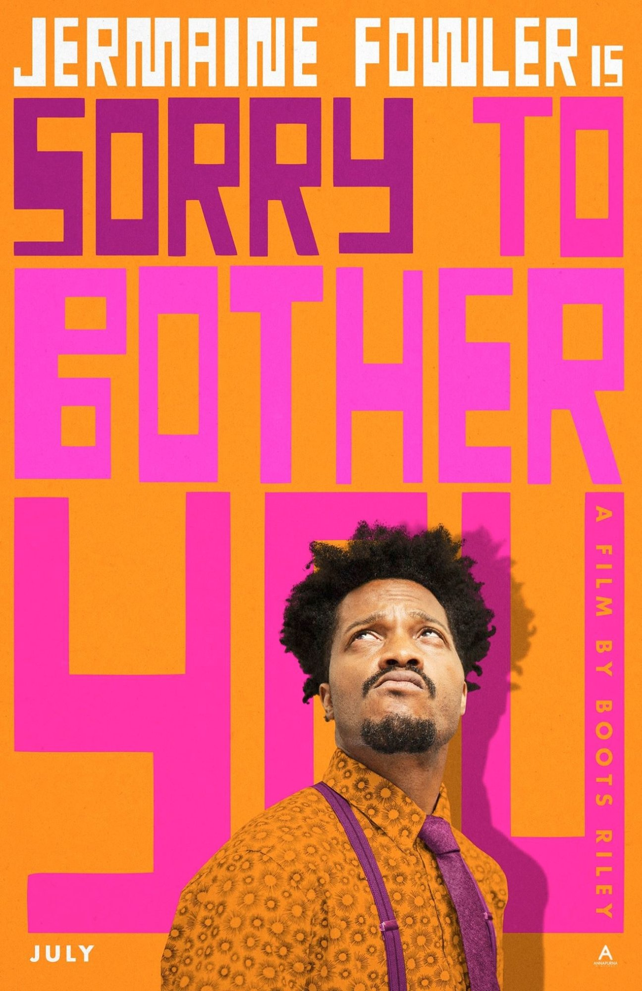Poster of Annapurna Pictures' Sorry to Bother You (2018)