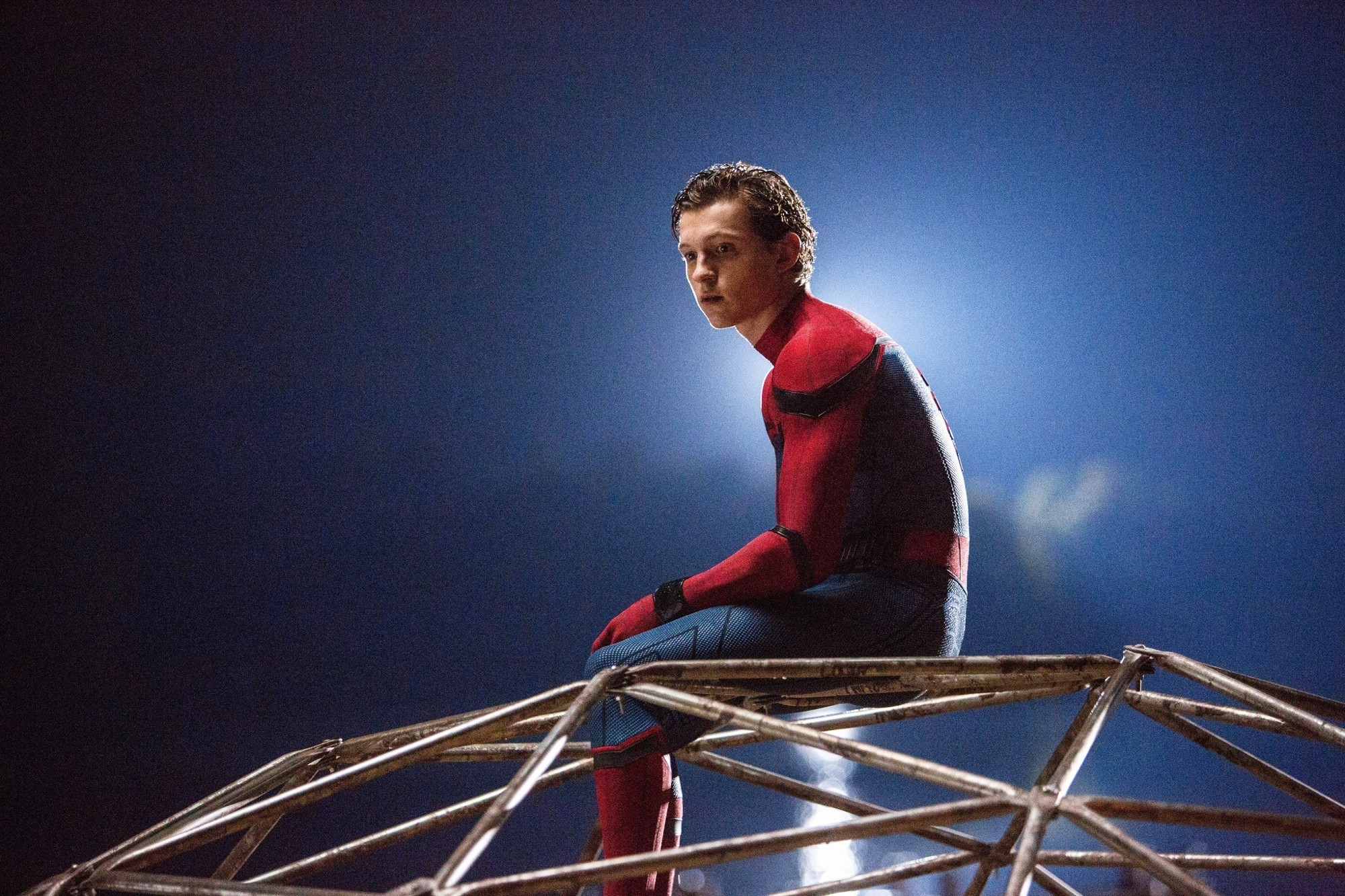 Tom Holland stars as Peter Parker/Spider-Man in Sony Pictures' Spider-Man: Homecoming (2017)