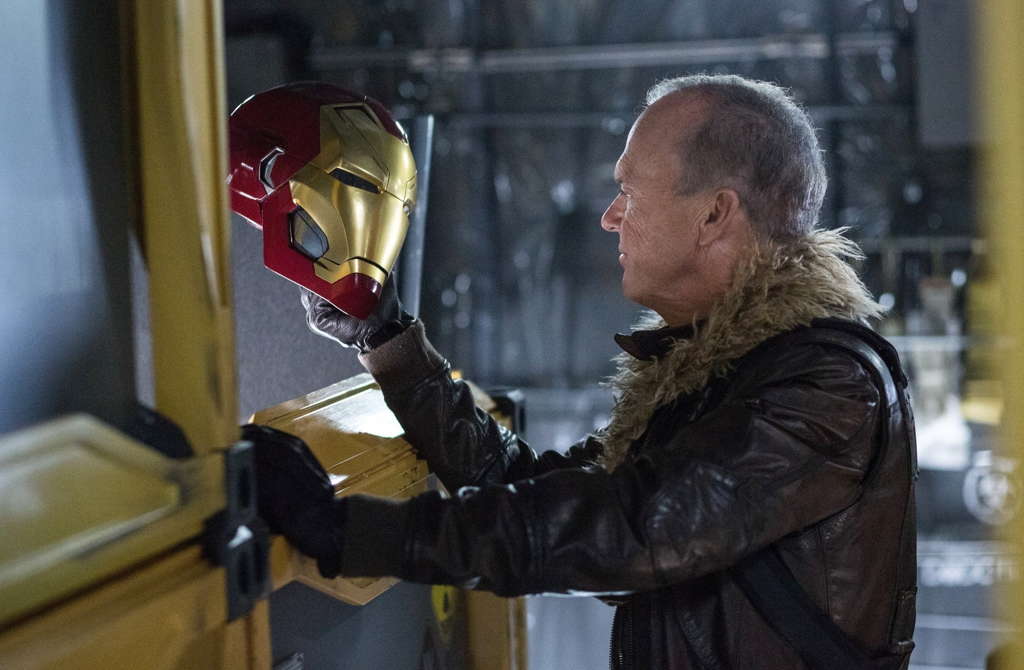 Michael Keaton stars as Adrian Toomes/The Vulture in Sony Pictures' Spider-Man: Homecoming (2017)