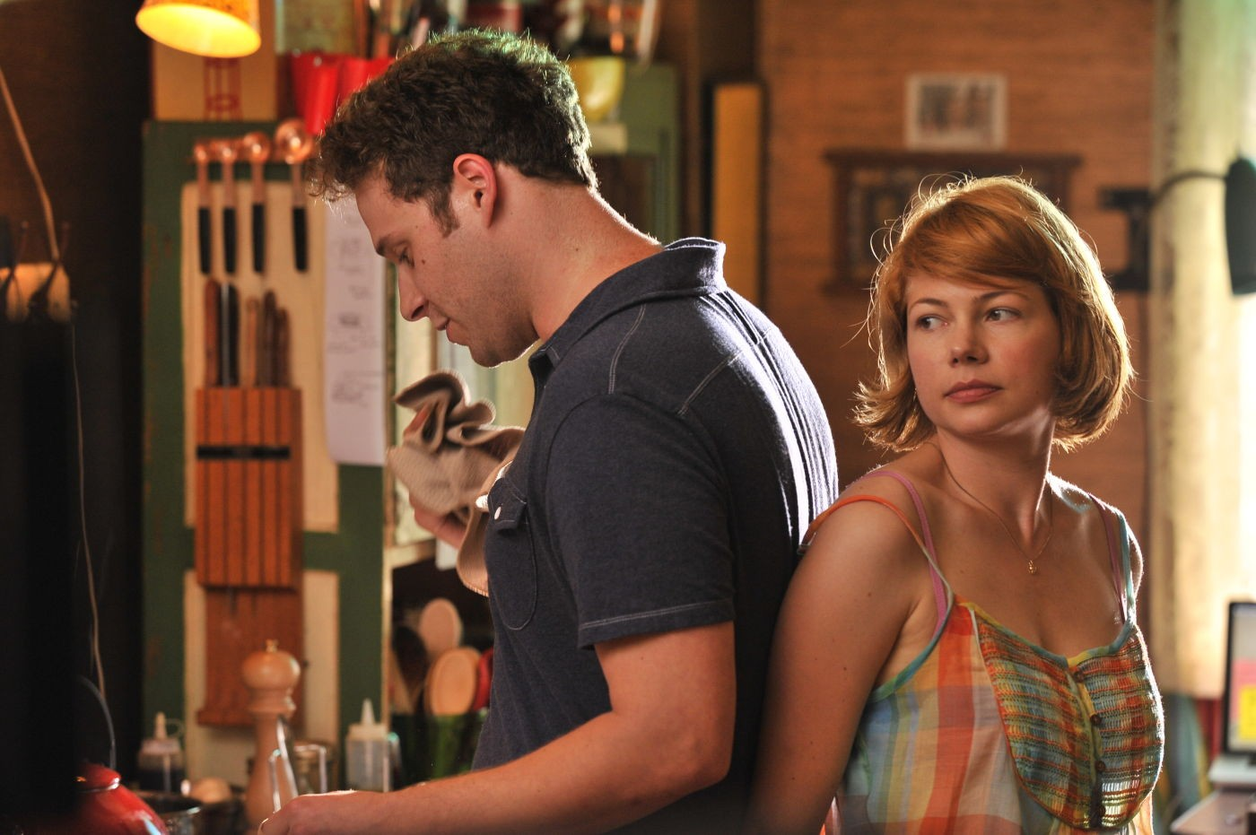 Seth Rogen stars as Lou Rubin and Michelle Williams stars as Margot in Magnolia Pictures' Take This Waltz (2012)
