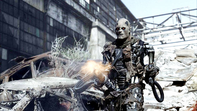 A scene from Warner Bros. Pictures' Terminator Salvation (2009)