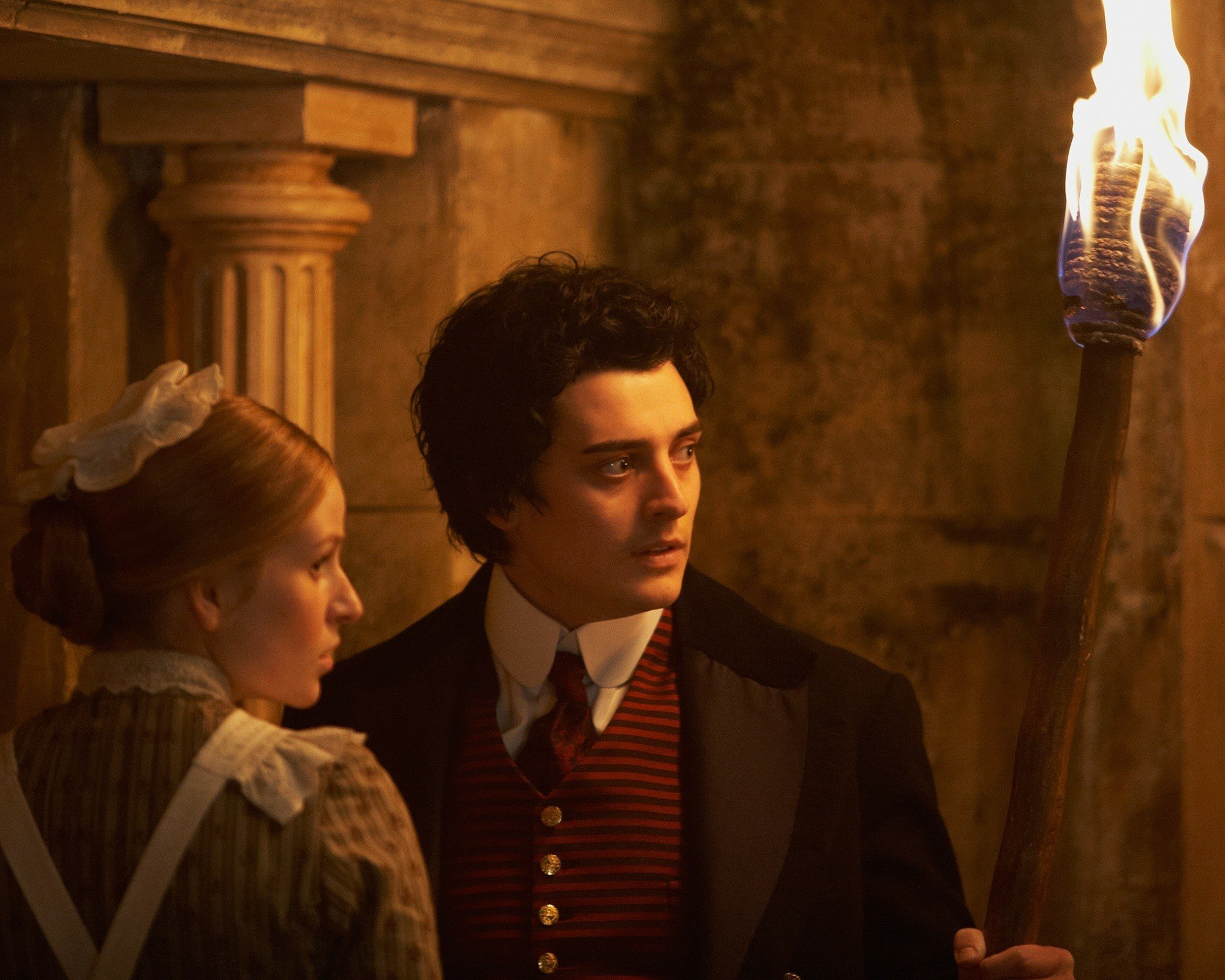 Aneurin Barnard stars as Mariah Mundi in Image Entertainment's The Adventurer: The Curse of the Midas Box (2014)