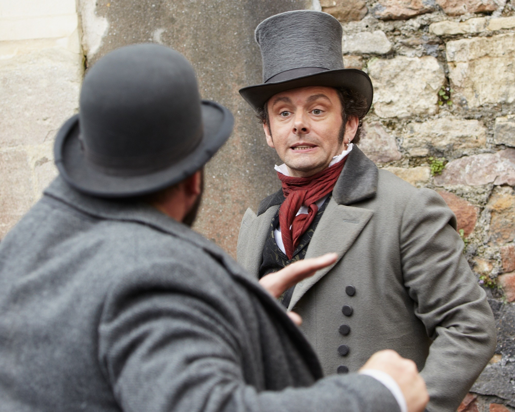 Michael Sheen stars as Charity in Image Entertainment's The Adventurer: The Curse of the Midas Box (2014)