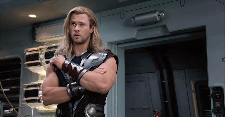 Chris Hemsworth stars as Thor in Walt Disney Pictures' The Avengers (2012)