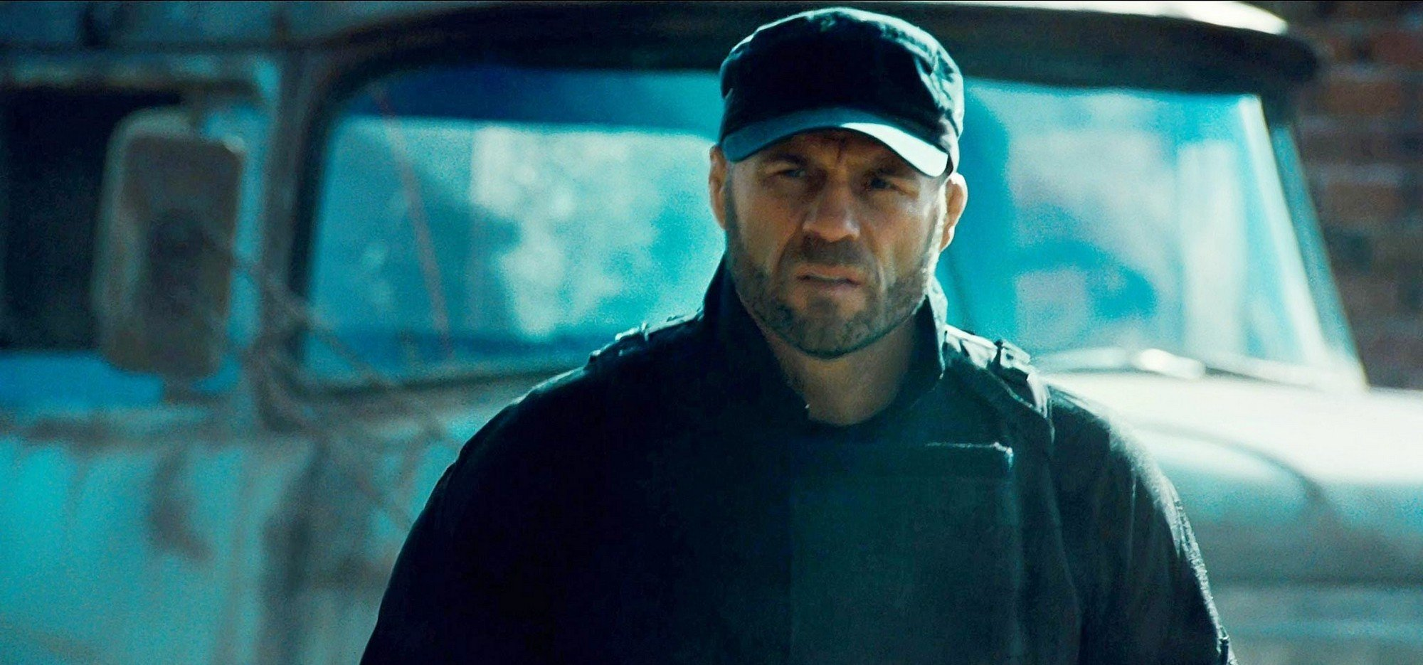 Randy Couture stars as Toll Road in Lionsgate Films' The Expendables 2 (2012)