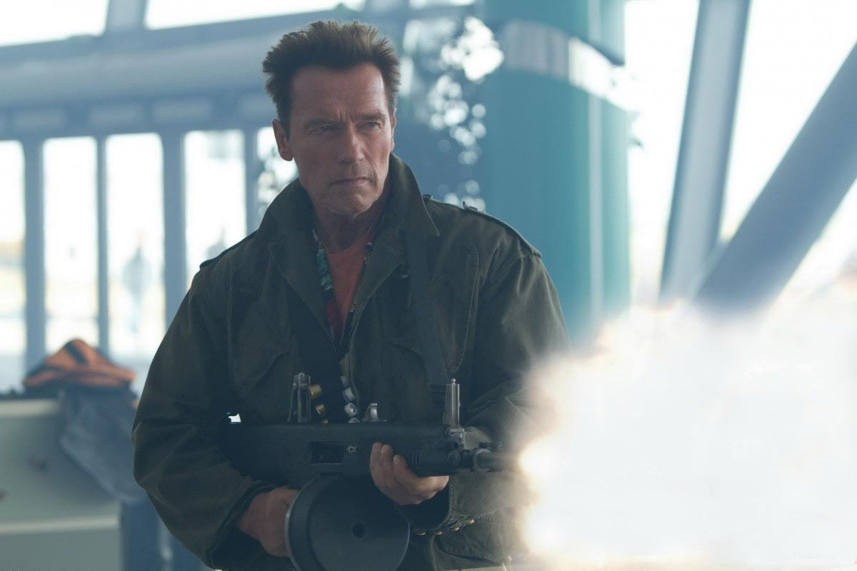Arnold Schwarzenegger stars as Trench in Lionsgate Films' The Expendables 2 (2012)