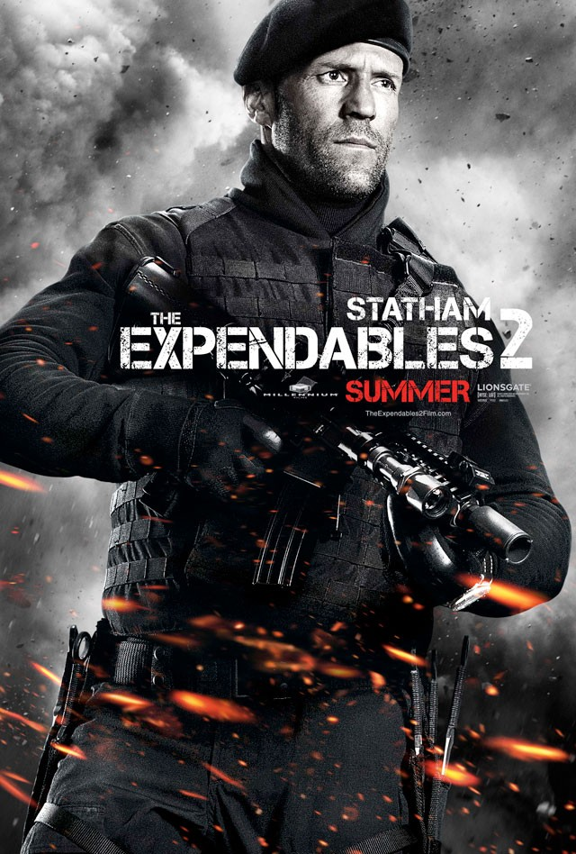 Poster of Lionsgate Films' The Expendables 2 (2012)