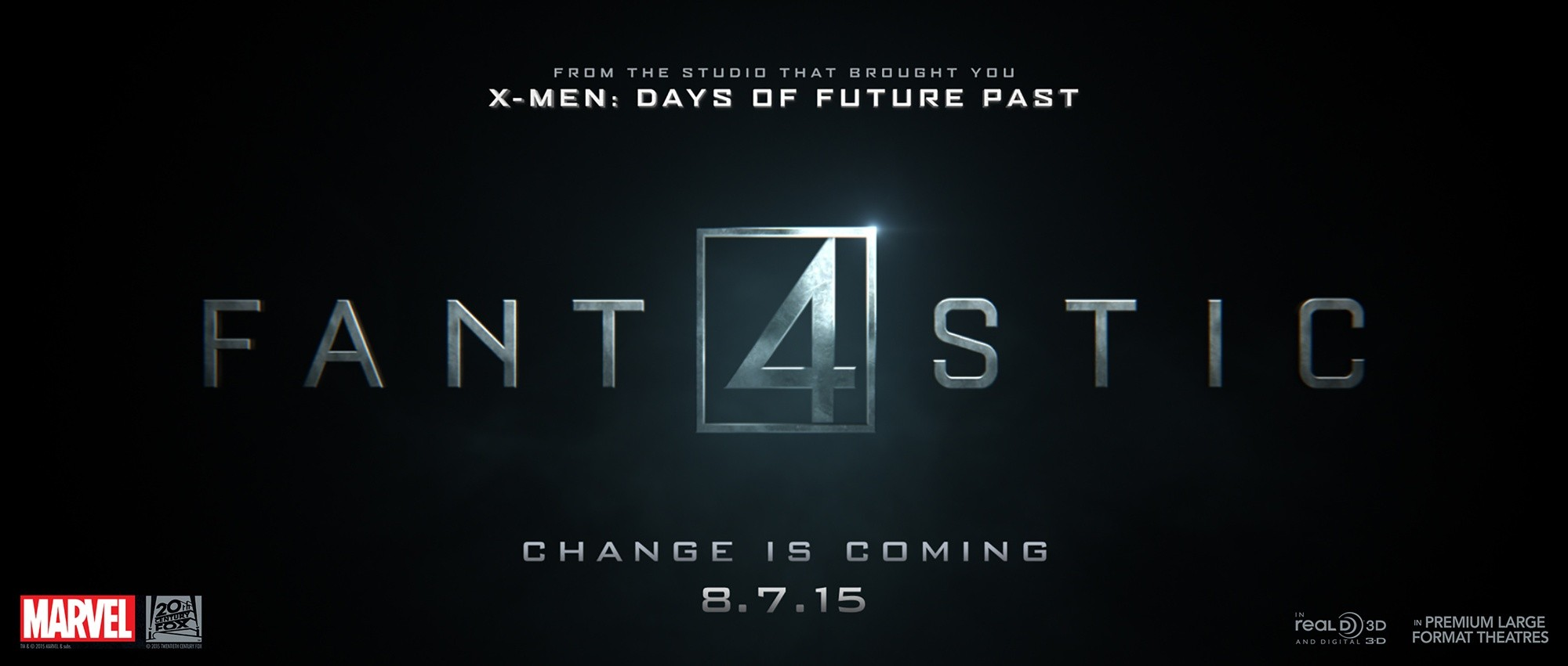 Poster of 20th Century Fox's The Fantastic Four (2015)
