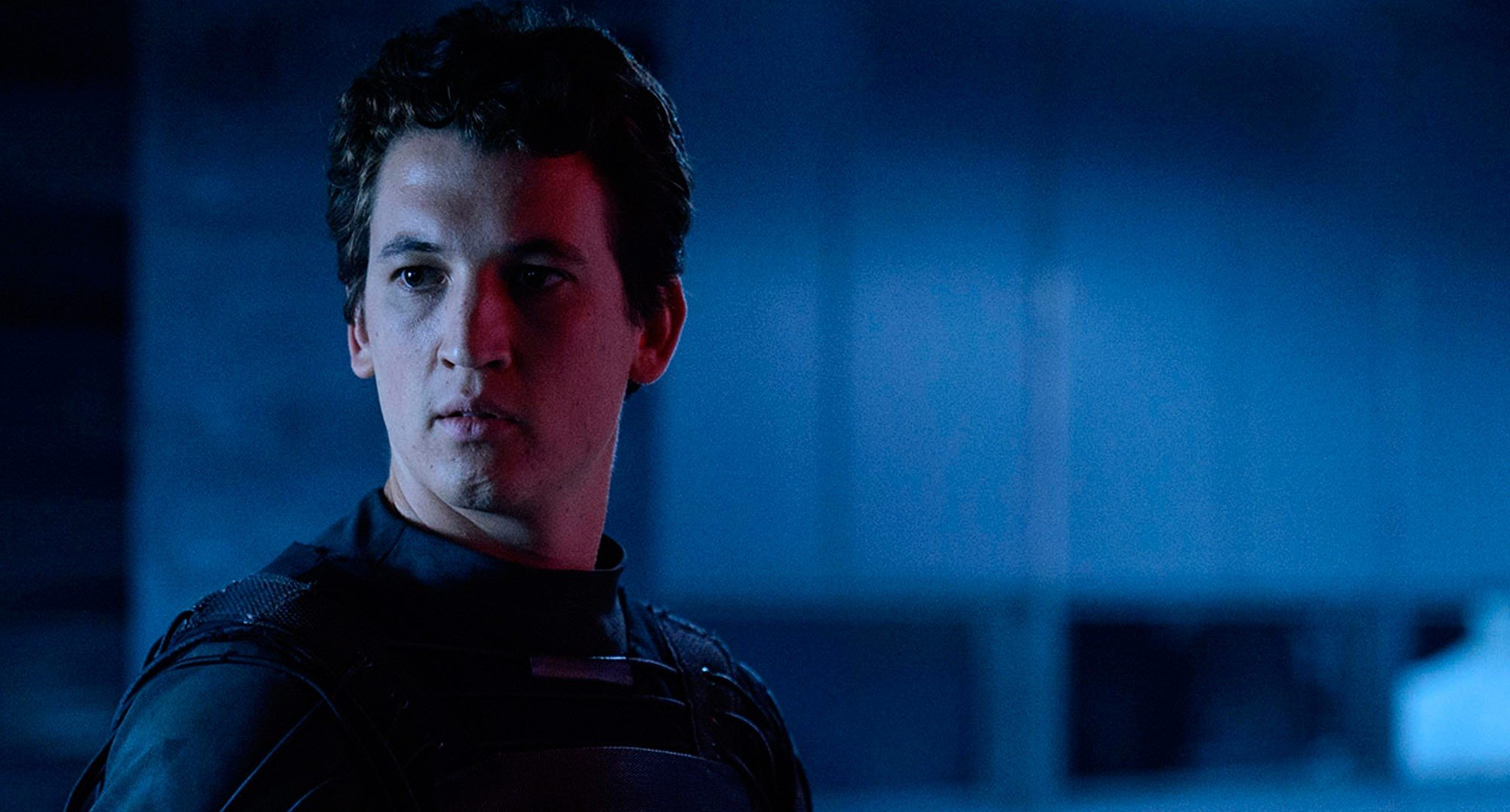 Miles Teller stars as Reed Richards/Mr. Fantastic in 20th Century Fox's The Fantastic Four (2015)