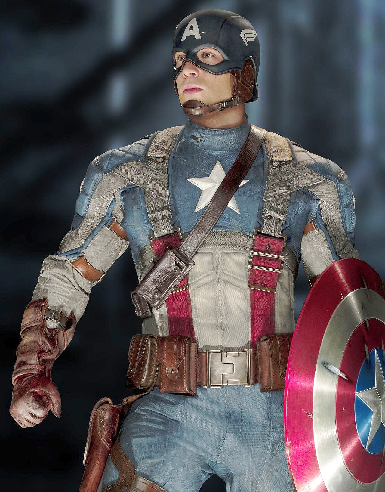 Chris Evans stars as Steve Rogers in Paramount Pictures' Captain America: The First Avenger (2011)