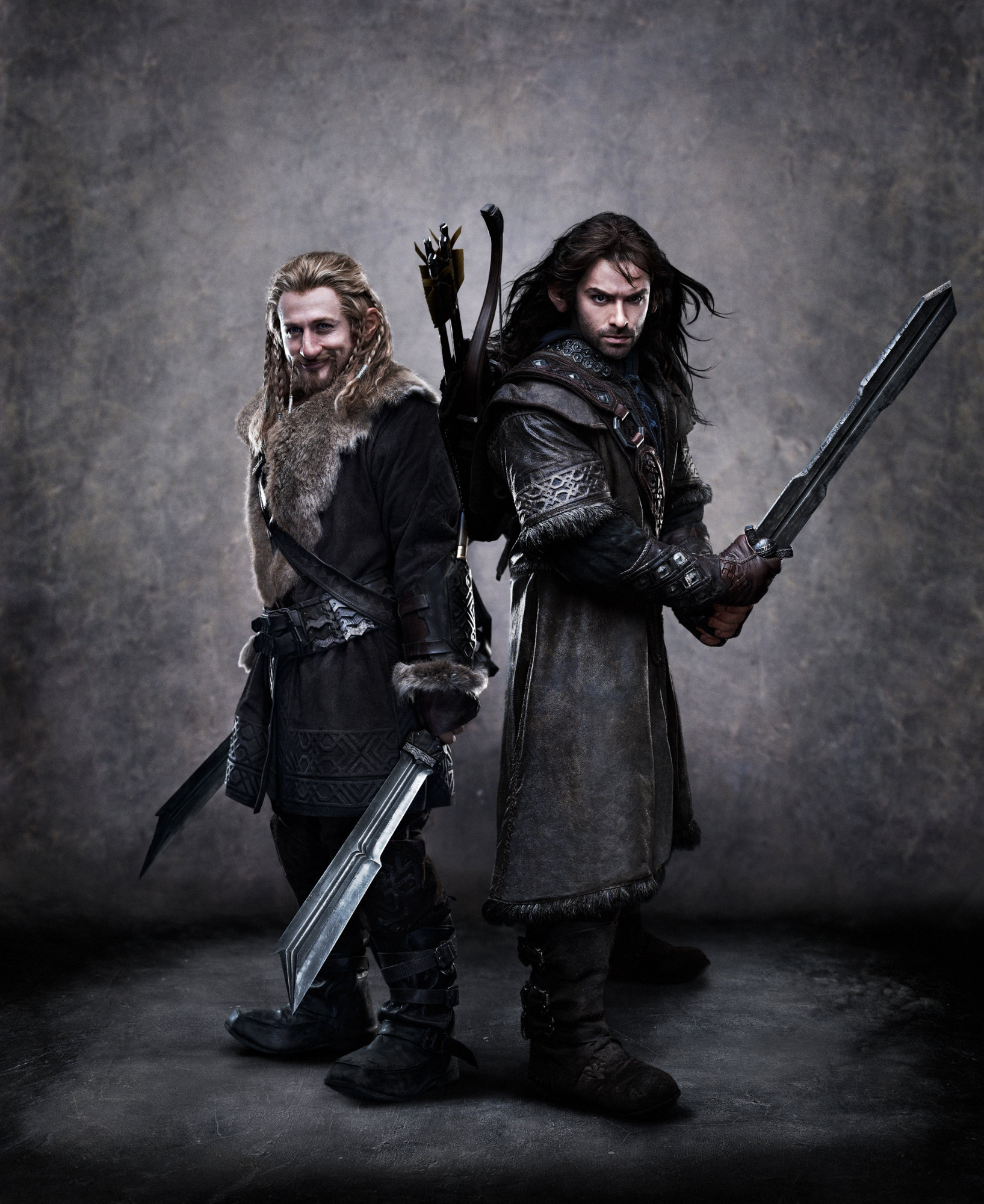 Dean O'Gorman stars as Fili and Aidan Turner stars as Kili in Warner Bros. Pictures' The Hobbit: An Unexpected Journey (2012)