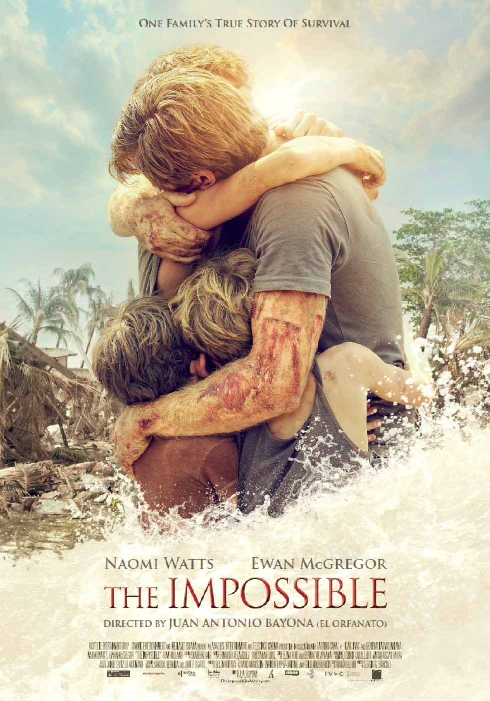 Poster of Summit Entertainment's The Impossible (2012)