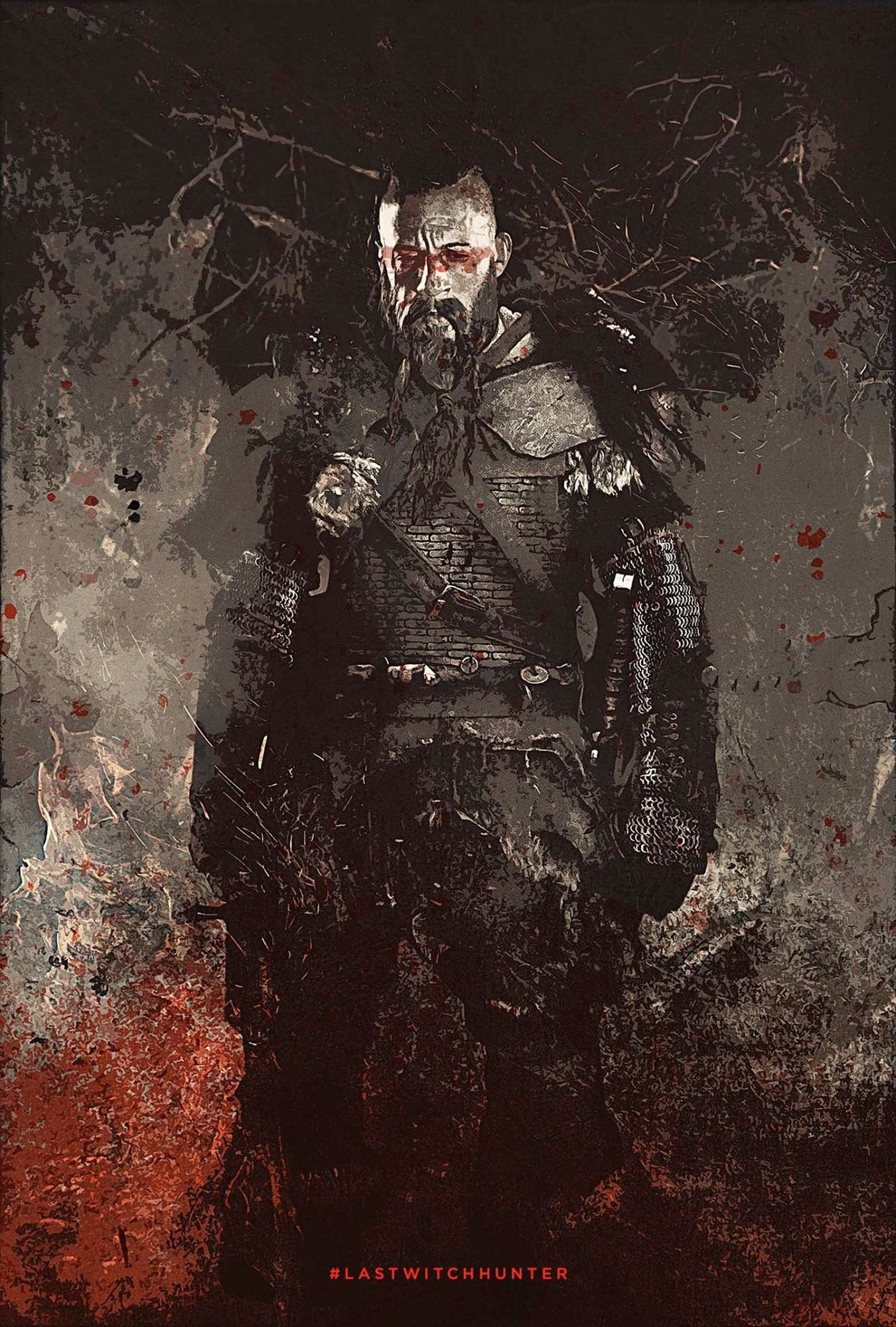 Poster of Summit Entertainment's The Last Witch Hunter (2015)