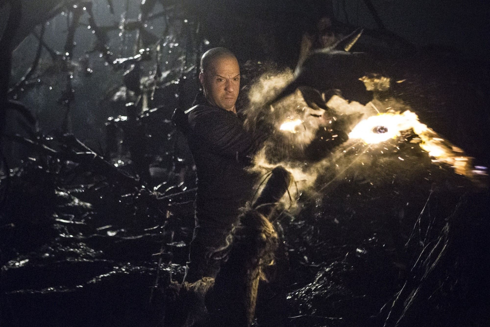 Vin Diesel stars as Kaulder in Summit Entertainment's The Last Witch Hunter (2015)