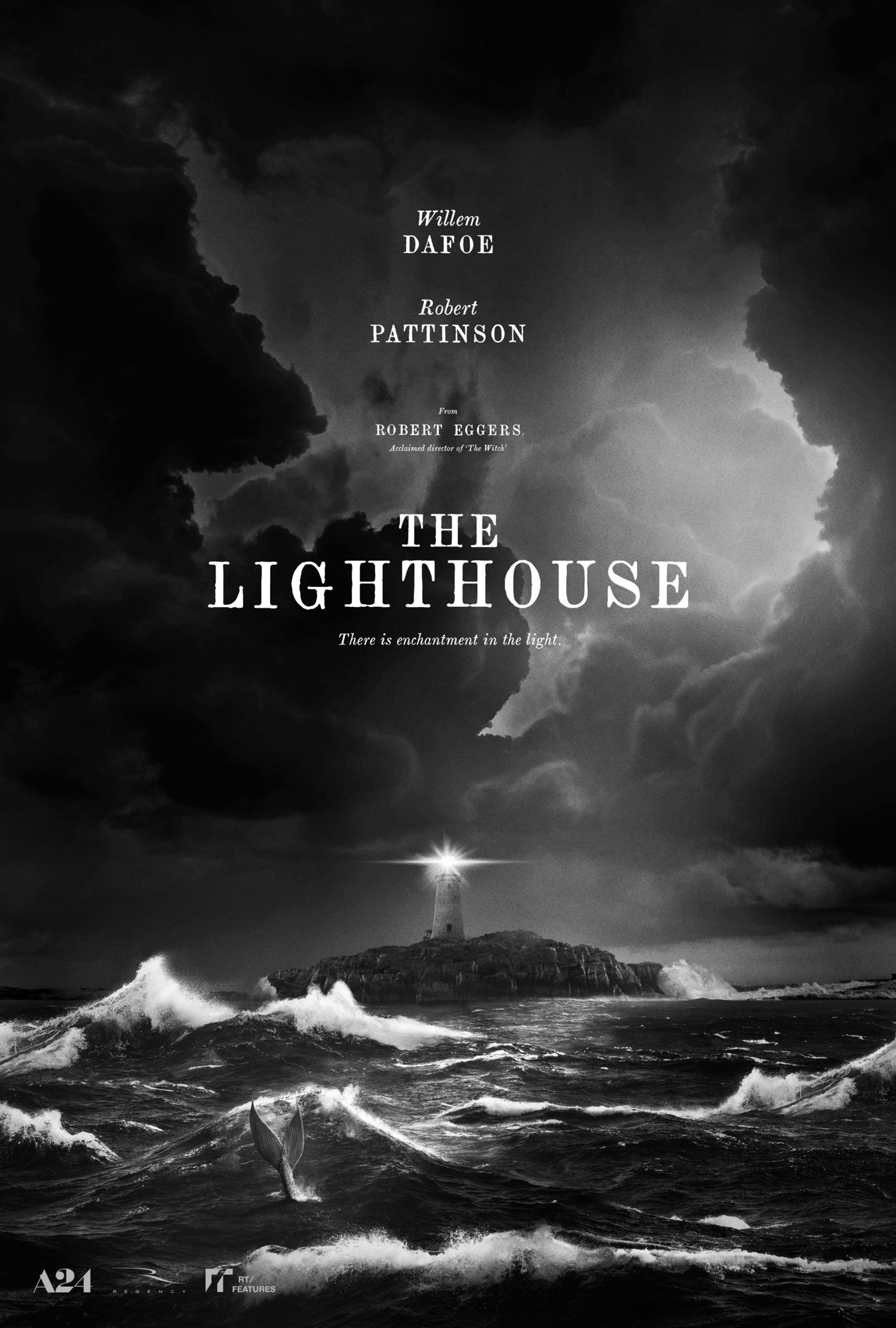 Poster of A24's The Lighthouse (2019)