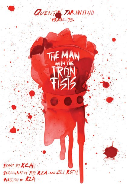 Poster of Universal Pictures' The Man with the Iron Fists (2012)